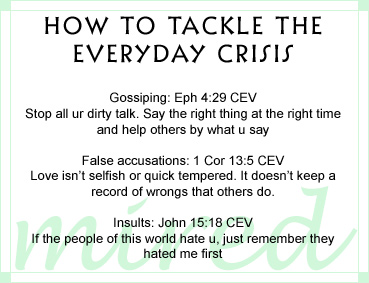 How to take the everyday crisis