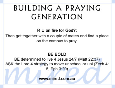 Building a praying generation